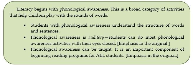 35 Phonological Awareness Beginning With The Ear Musica Bella A